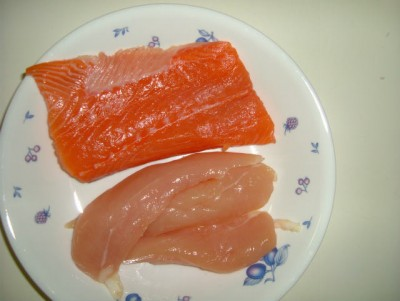 salmon-chicken