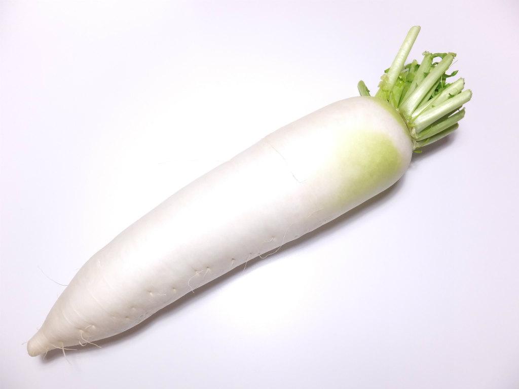 大根/ダイコン【カロリーと栄養成分】根・皮つき・生【GAROP】
